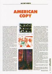 American Copy - M.G. Mattei su Zoom