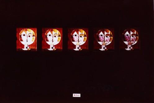 Fotocopie d'autore - da Klee - Senecio - Vannozzi 1976