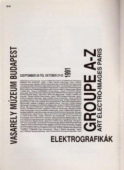 Groupe A-Z - Vasarely Muzeum Budapest 1991 001