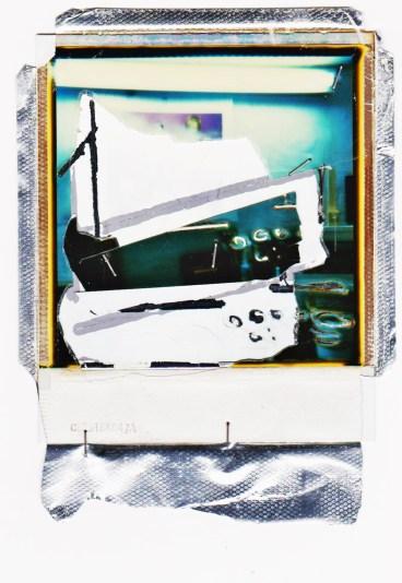 Lo stdio del pittore - Polaroid 1998