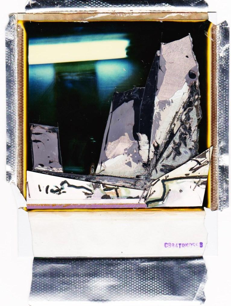Lo studio del pittore - Polaroid 2001