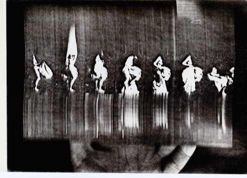 Muybridge (da) - Xerografia su acetato (2)